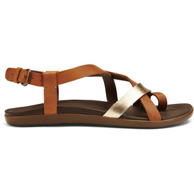 OluKai Upena Sandals Women mustard/bubbly
